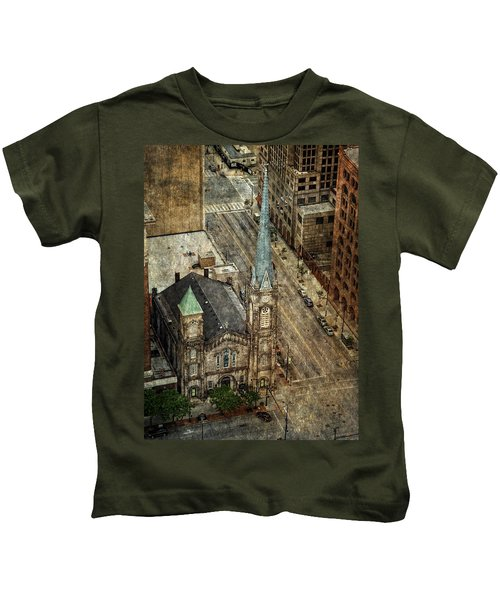 Old Stone Church Kids T-Shirt