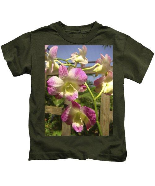 Orchid Splendor Kids T-Shirt
