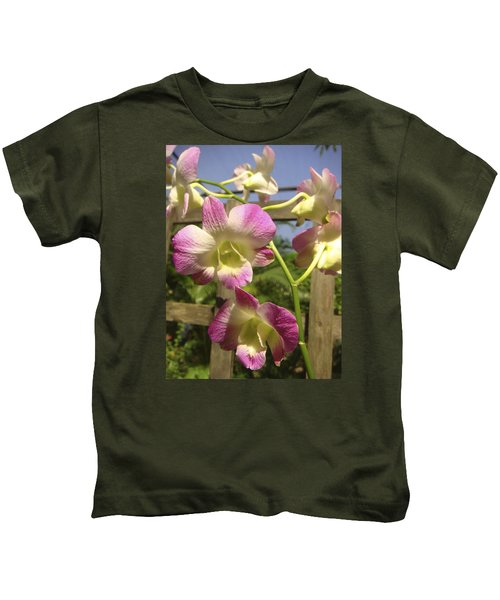Orchid Splendor Kids T-Shirt