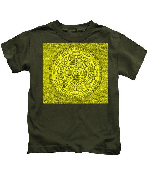 Oreo Chrome Yellow Kids T-Shirt
