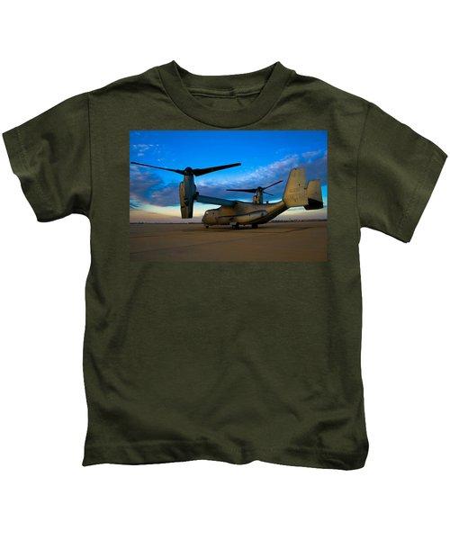 Osprey Sunrise Series 1 Of 4 Kids T-Shirt