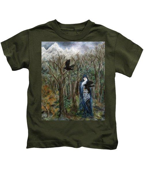 The Raven God Kids T-Shirt