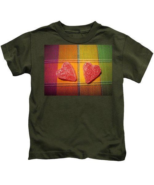 Our Hearts On The Table Kids T-Shirt