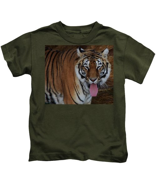 Out Of Africa  Tiger 2 Kids T-Shirt