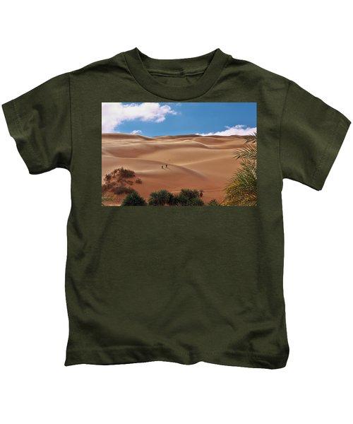 Over The Dunes Kids T-Shirt