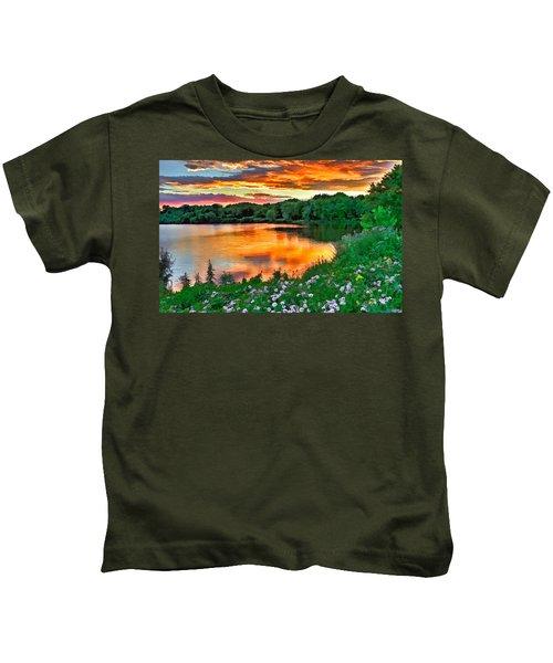 Painted Sunset Kids T-Shirt