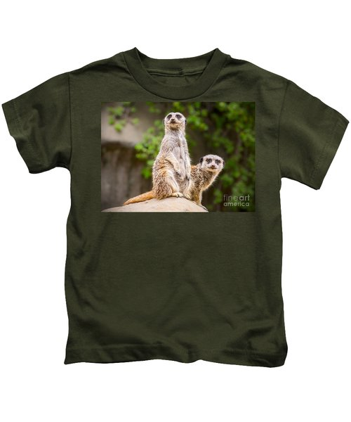 Pair Of Cuteness Kids T-Shirt by Jamie Pham
