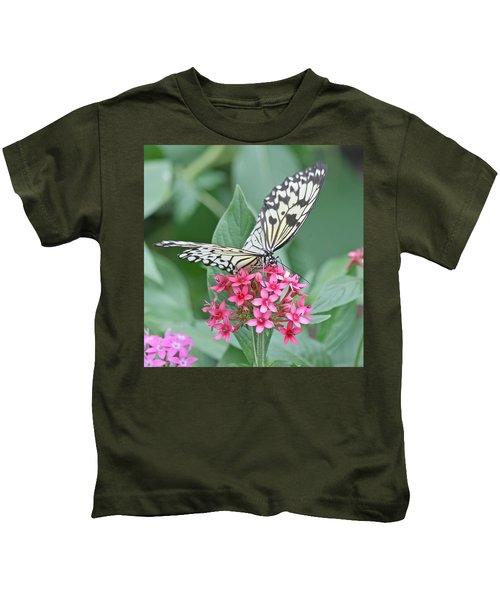 Paper Kite Butterfly - 2 Kids T-Shirt