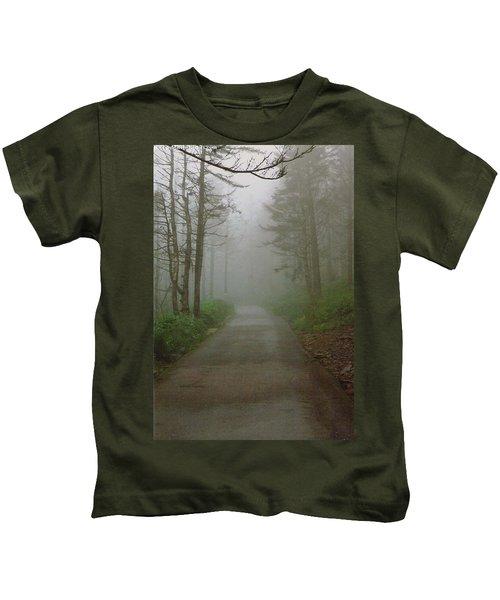 Path To Clingmans Dome Kids T-Shirt