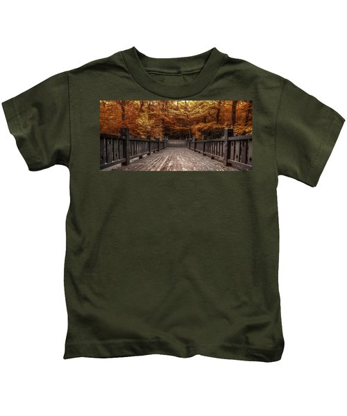 Path To The Wild Wood Kids T-Shirt