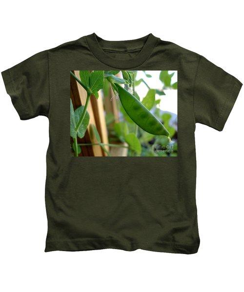 Pea Pod Growing Kids T-Shirt