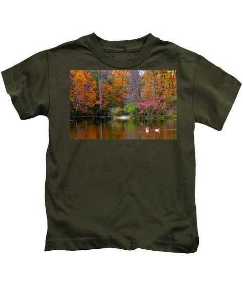 Peaceful Lake Kids T-Shirt