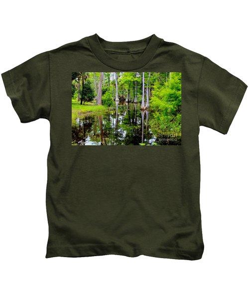 Peaceful Lake Kids T-Shirt