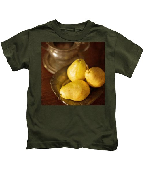 Pears And Great Grandpa's Silver Kids T-Shirt