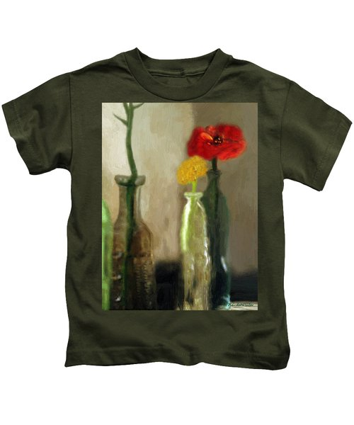 Peggy's Flowers Kids T-Shirt