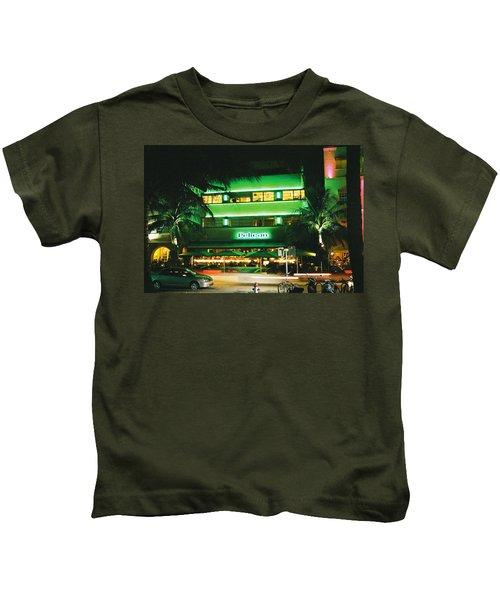 Pelican Hotel Film Image Kids T-Shirt