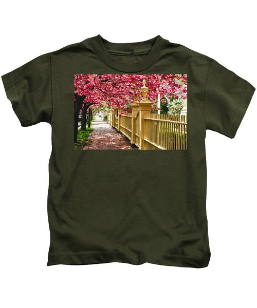 Perfect Time For A Spring Walk Kids T-Shirt