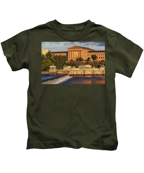 Philadelphia Museum Of Art Kids T-Shirt