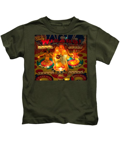 Pinball Wizard Tommy Vintage Kids T-Shirt