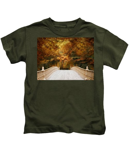 Pine Bank Autumn Kids T-Shirt