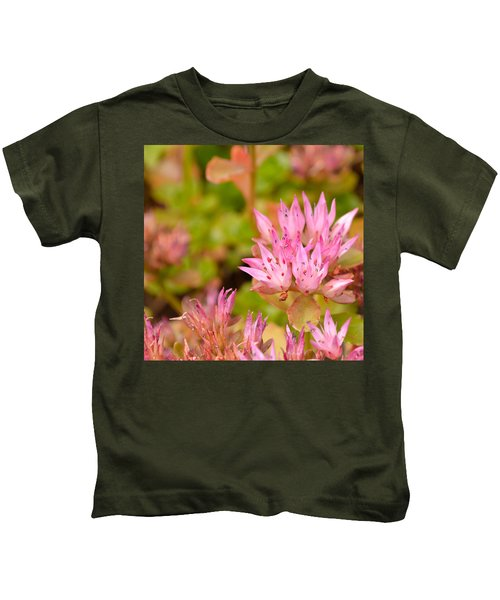 Pink Flower Kids T-Shirt