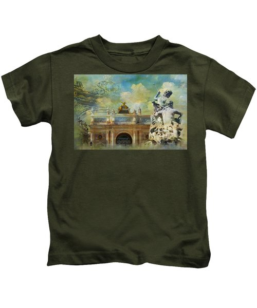 Place Stanislas Place De La Carriere And Place Dalliance In Nancy Kids T-Shirt
