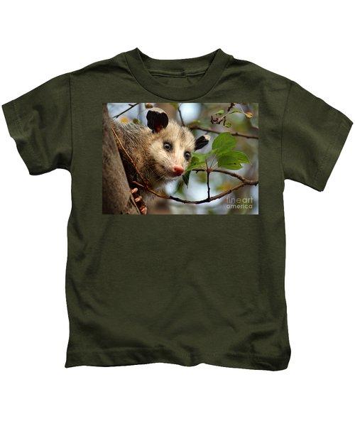 Playing Possum Kids T-Shirt