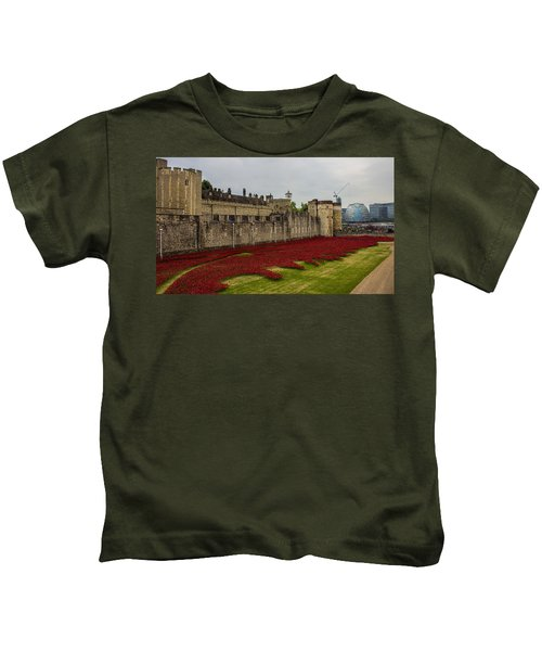 Poppies Tower Of London Kids T-Shirt