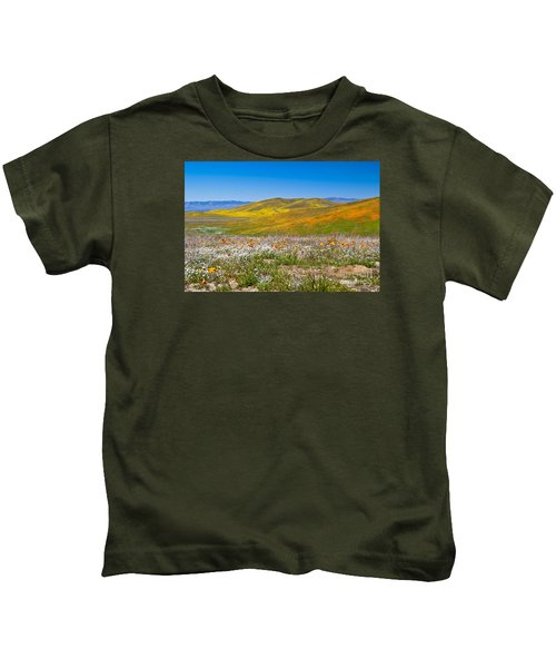 Poppy Fields Kids T-Shirt