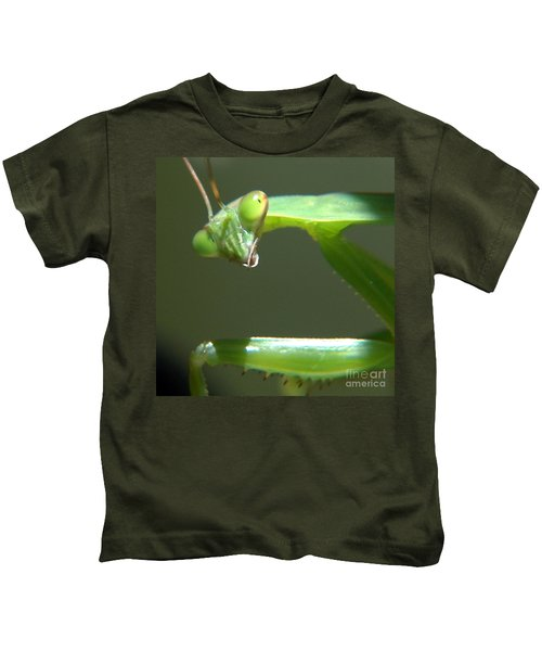 Praying Mantis Kids T-Shirt