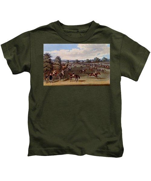 Preparing To Start, Print Made Kids T-Shirt