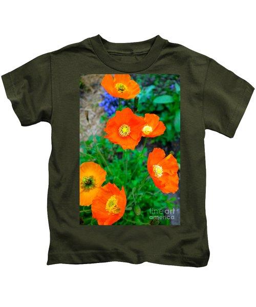 Pretty In Orange Kids T-Shirt