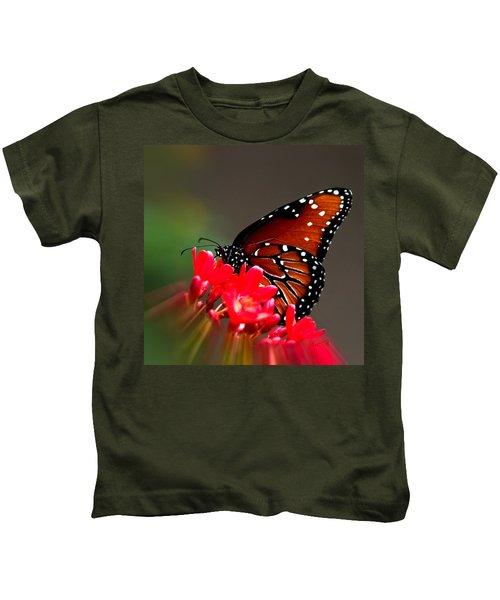 Queen Butterfly II Kids T-Shirt