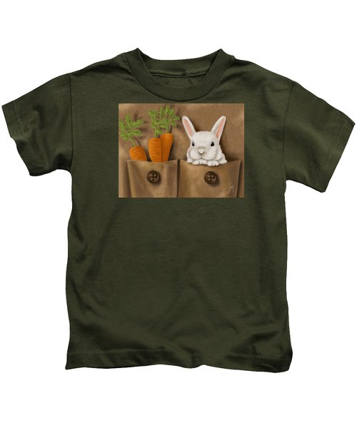 Rabbit Hole Kids T-Shirt by Veronica Minozzi