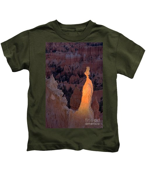 Rabbit Sunset Point Bryce Canyon National Park Kids T-Shirt