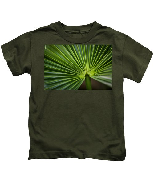 Radial Greens Kids T-Shirt