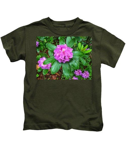 Rainy Rhodo Kids T-Shirt