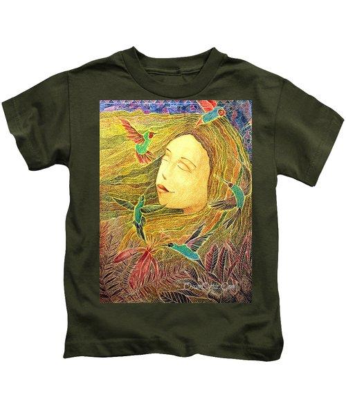 Recordando A Puerto Rico Kids T-Shirt