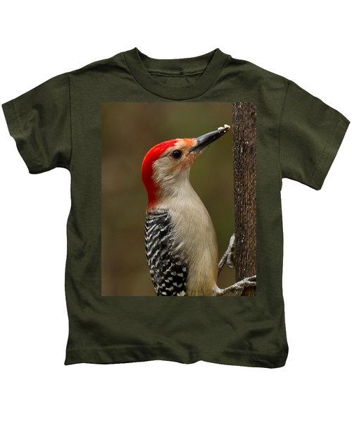 Red-bellied Woodpecker Kids T-Shirt