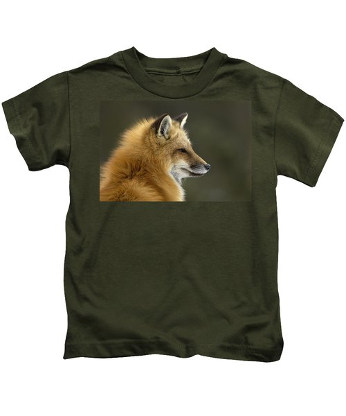 Sly Red Fox Kids T-Shirt