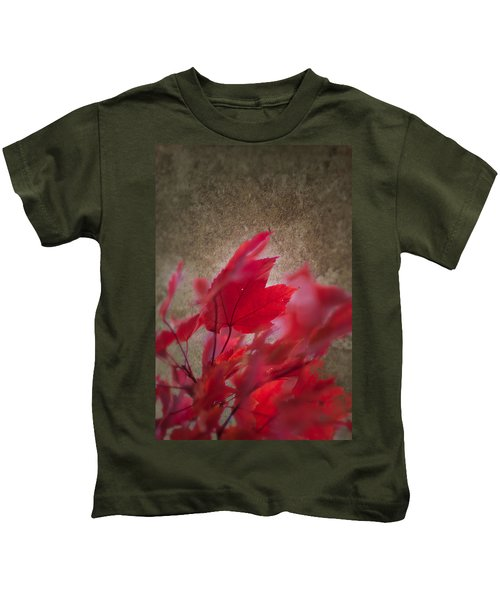 Red Maple Dreams Kids T-Shirt