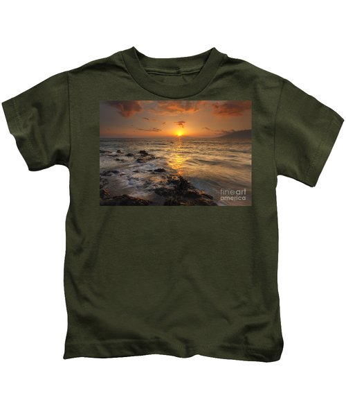 Red Sky In Paradise Kids T-Shirt