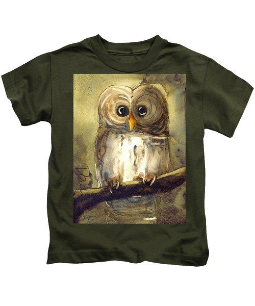 Redbird Cottage Owl Kids T-Shirt