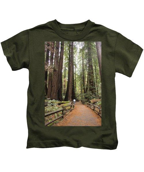 Redwood Trees Kids T-Shirt