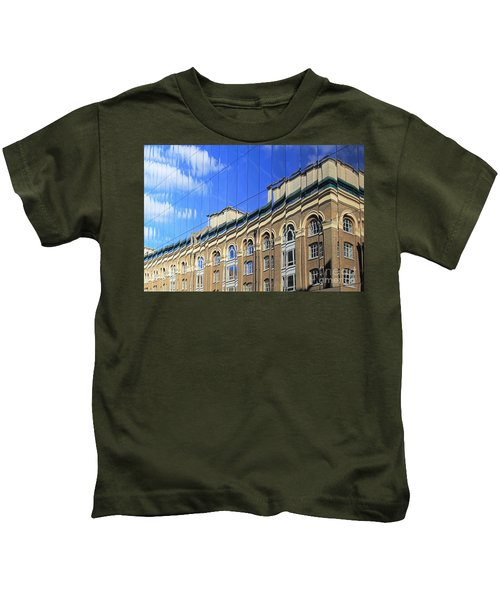 Reflected Building London Kids T-Shirt