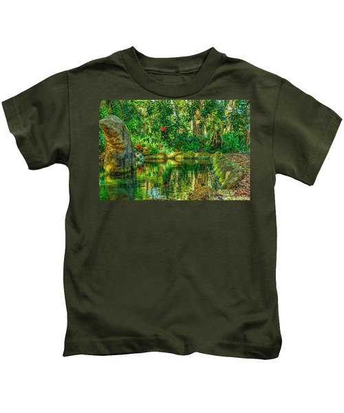 Reflecting On The Day Kids T-Shirt