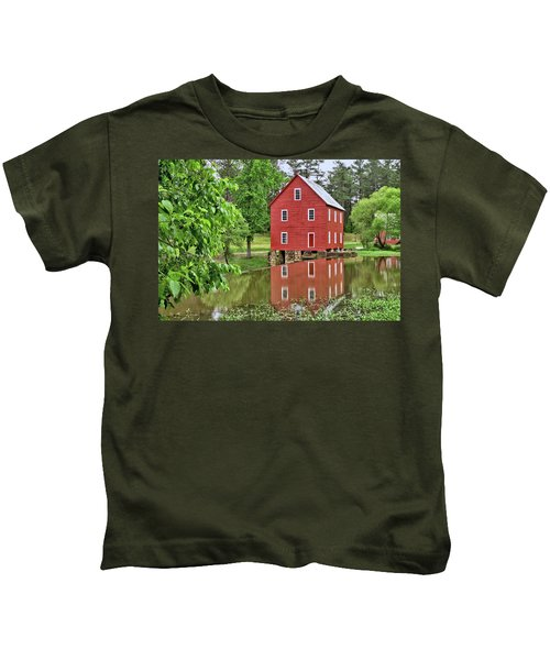 Reflections Of A Retired Grist Mill Kids T-Shirt