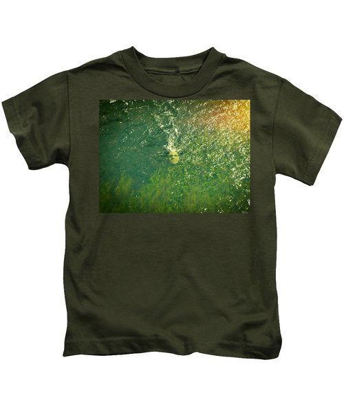 Reflections Of Time Kids T-Shirt