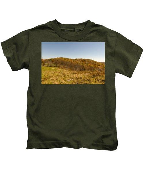 Rich Mountain Autumn Kids T-Shirt