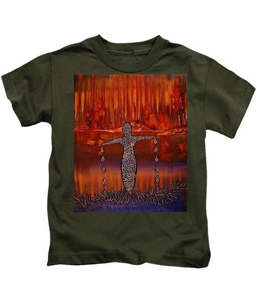 River Dance Kids T-Shirt